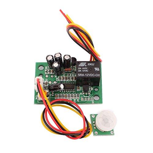 Amazon.com: eDealMax 12V DC del Cuerpo humano Módulo del Sensor de movimiento del interruptor del Sensor de infrarrojos Junta: Electronics