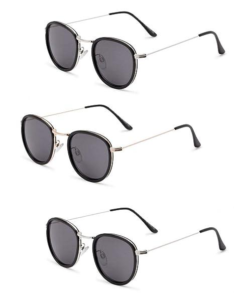 Amazon.com: Gafas de sol de lectura, 3 pares de las gafas de ...