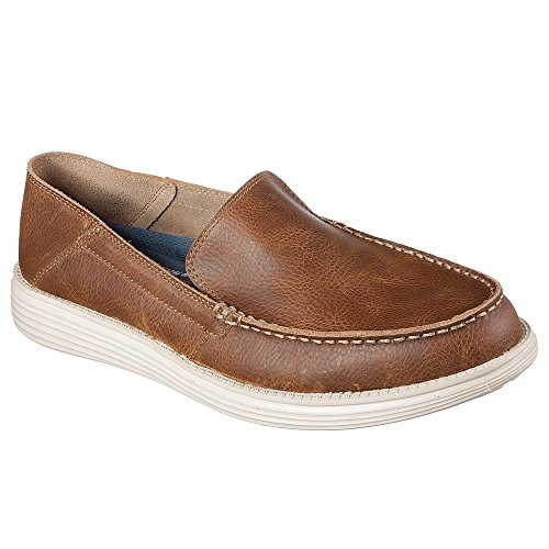 Brown Skechers Skechers Brown 65505BRN Bresson Mocassino Bresson HFqCdwFTWn