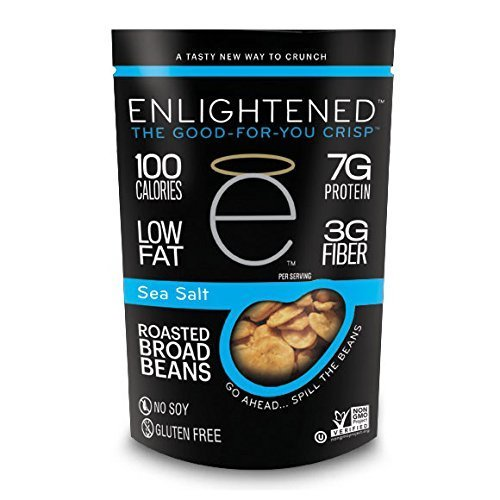 Enlightened - The Good-For-You Crisp, Roasted Broad Beans, Sea Salt, 4.5 Ounce