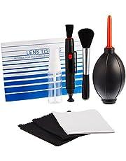 AmazonBasics - Kit de limpieza para cámaras DSLR y dispositivos electrónicos delicados