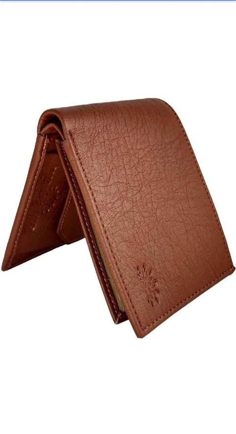 Gannet Brown Leather Wallet for Men
