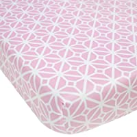 CoCaLo Mix & Match Lattice Fitted Sheet, Violet