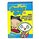 Family Guy Milk chocolate Hollow Easter Egg 75g and Mug