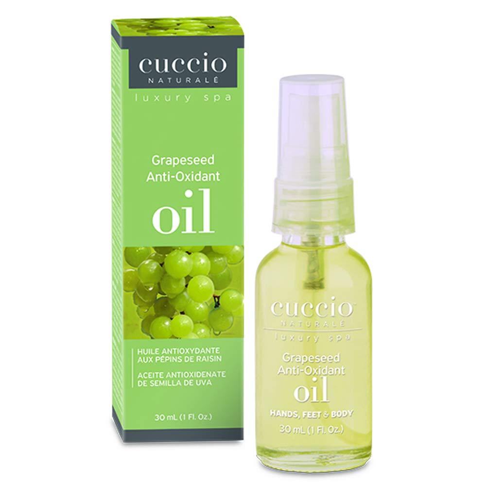 Amazon.com : Cuccio Anti-Oxidant Oil, Grapeseed, 1 Ounce : Cuticle Creams And Oils : Beauty