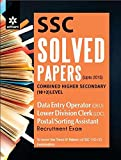 SSC Solved Papers Combined Higher Secondary (10+2) level DATA ENTRY OPERATOR (DEO), LOWER DIVISION CLERK (LDC), Postal/Sorting Assistant Recruitment Exam