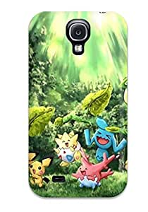 High Grade Mary Elizabeth Mihas Flexible Tpu Case For Galaxy S4 - Pokemon