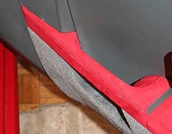 RedlineGoods Porsche Boxster 2005-12 cubierta de apoyabrazos laterales de