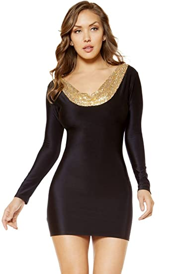Amazon Angelina Bodycon Dress With Open Back Design Clothing