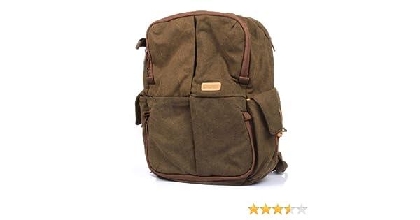 2736401634 Amazon.com   Caden N5 Canvas Retro Digital Camera Rucksack Shoulder Bag  Backpack Waterproof Brown for DSLR Camera Lens Canon Nikon Sony Olympus  Pentax ...