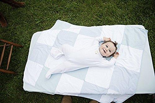 Burt S Bees Baby Bee Essentials Stripe Fitted Crib Sheet