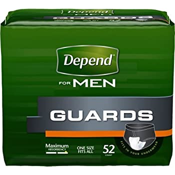 Amazon Com Kimberly Clark Depend Guard For Men 12 Quot L