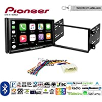 Volunteer Audio Pioneer AVH-W4400NEX Double Din Radio Install Kit with Wireless Apple CarPlay, Android Auto, Bluetooth Fits 2007-2011 Honda Element