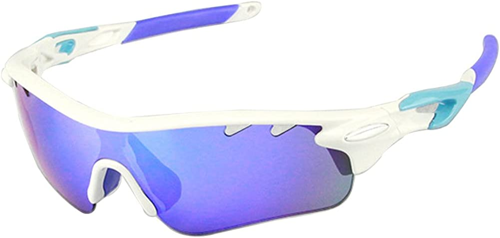 Polarized Sports Sunglasses For Men Women Cycling Driving Sun Glasses TR90 Frame