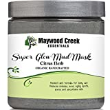 Best Acne Masks - Facial Mud Mask Super Glow - Organic Ingredients Review