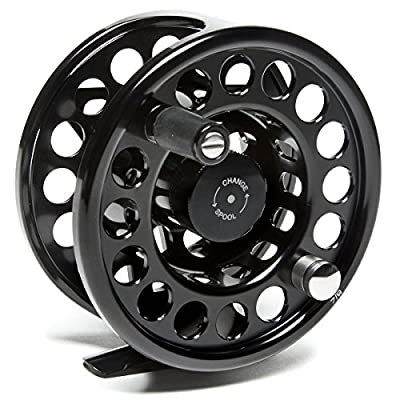 Loop Evotec Lightweight Fly Reel BLACK 6-8 LEFT by Loop
