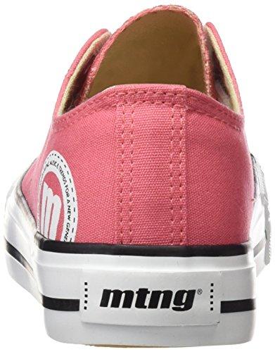 MTNG Attitude Bamba Chica, Zapatillas de Deporte para Mujer Rosa (Canvas Rosa)