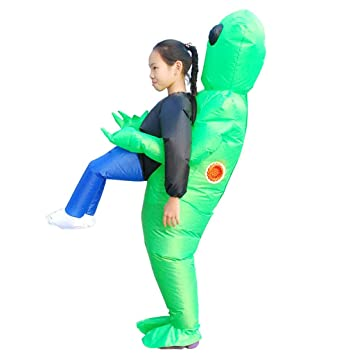 Amazon.com: Disfraz inflable para Halloween, impermeable, de ...