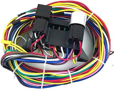 FairOnly Convenient Life 12 Circuit Universal Wiring Harness Muscle Car Hot Rod Street Rod XL Wires