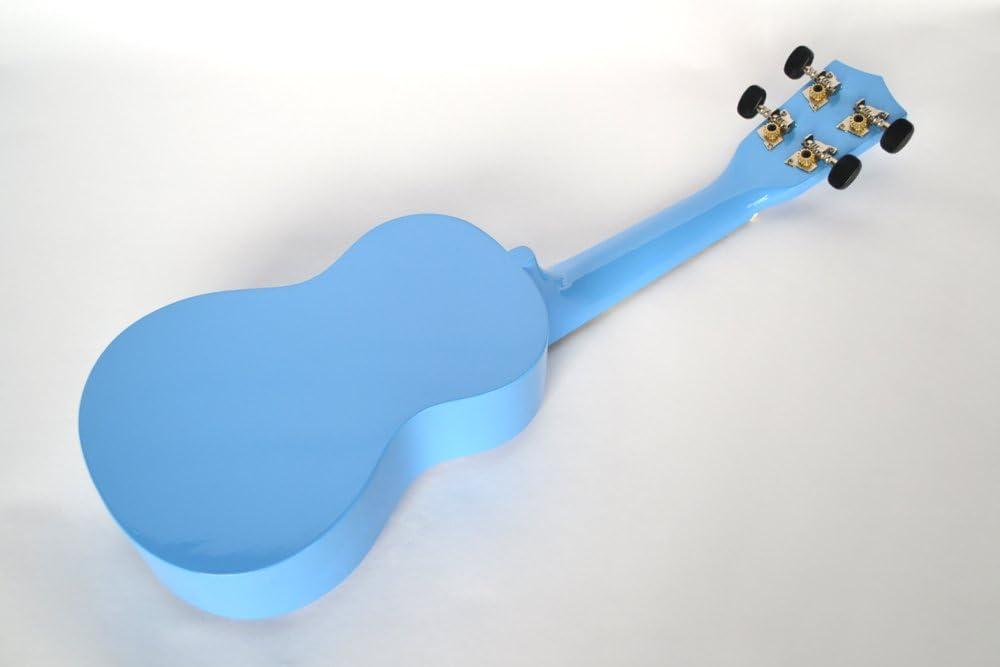 BARGAIN CLEARWATER SOPRANO UKULELE LIGHT BLUE WITH GIG BAG IDEAL BEGINNERS STARTER