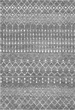 """nuLOOM Moroccan Blythe Area Rug, 5' x 7' 5"""", Dark"""