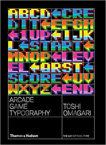 Amazon com: Arcade Game Typography: The Art of Pixel Type