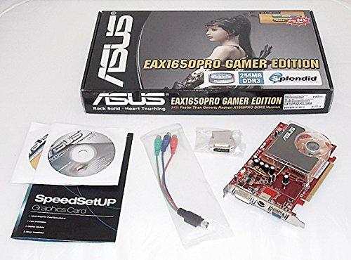 (ASUS EAX1650PRO Gamer Edition/HTD/256M/A RADEON X1650PRO 256MB PCI-E x16 DVI HDTV Video Card)