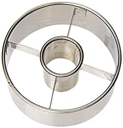 Ateco 3-12-inch Stainless Steel Doughnut Cutter