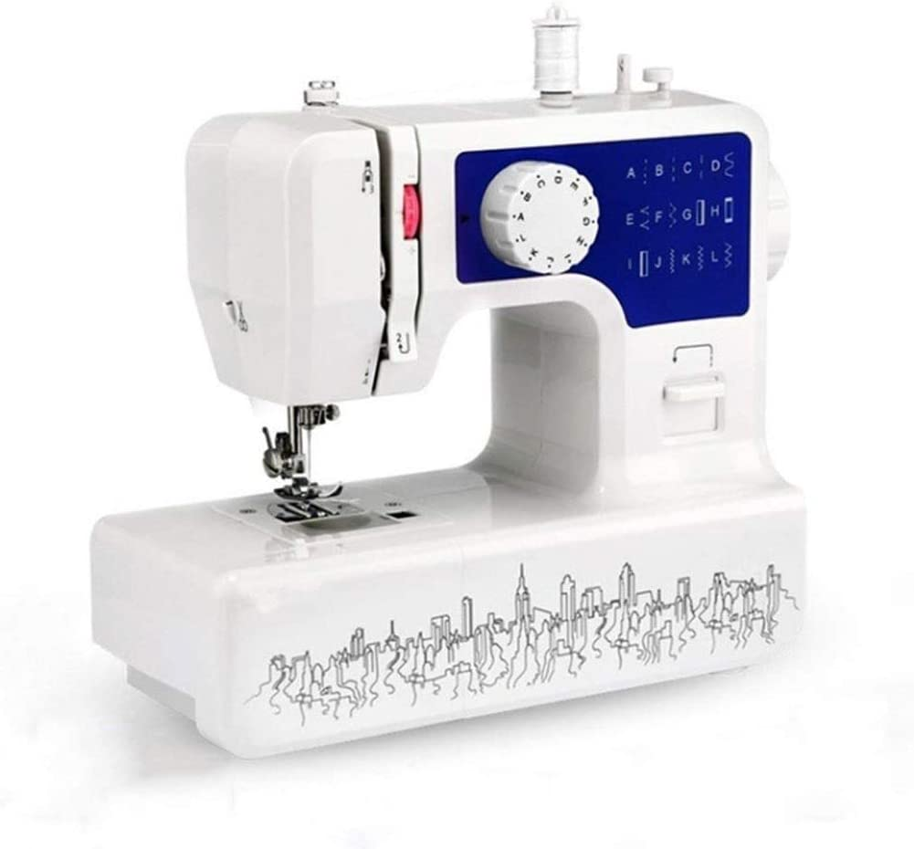 LEZDPP Pelo Máquina de Coser del hogar de Coser eléctrica Edge Comer Grueso de Bloqueo Botón del Ojo de la Aguja máquina de Coser 12 Normativas de los EE.UU.