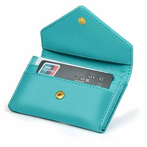Women's Card Case Wallet Credit Card Holder Name Card Case Front Pocket Wallet for Ladies