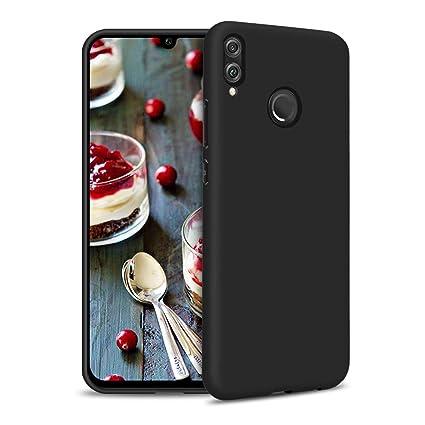 Carcasa Xiaomi Redmi Note 7, Suave TPU Silicona Funda para Xiaomi Redmi Note 7 Ultrafina Cover Delgado Flexible Goma Gel Mate Case Anti-rasguños Anti ...