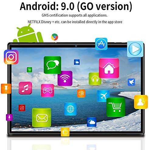 10.1 inch Tablet with Keyboard Case Quad-Core 1.3Ghz Processor, 3 GB RAM, 32 GB Storage, Android 9.0 (Go Edition) 1280×800 IPS HD Display, 8MP Rear Camera, Bluetooth, Wi-Fi, USB, GPS-Black 51zzU6GnIzL