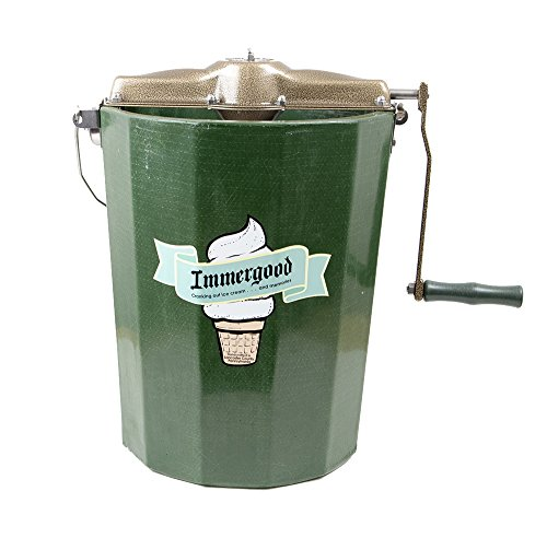 hand crank ice cream freezer - 7