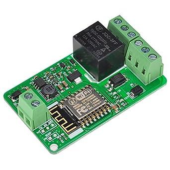 Relé de red ESP8266 10A 220V WIFI módulo entrada DC 7V ~ 30V