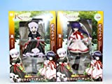 Rewrite - rewrite - heroine figure 3 animation prize Fleurs (all two full set + Poster bonus)