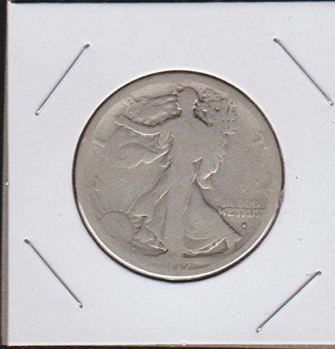 1917 S Liberty Walking (1916-1947) Obverse Mintmark Half Dollar (Walking Liberty Half Dollar Mintmark)