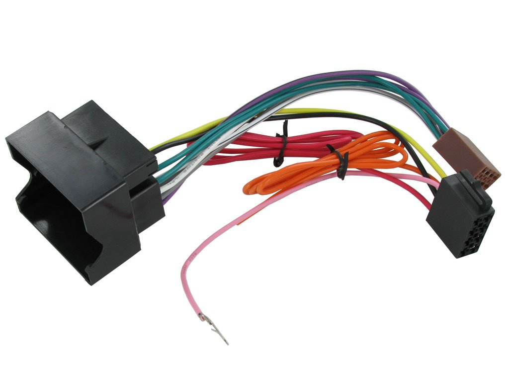 Connects 2 CT20VX01 ISO Aftermarket Stereo Installation Harness Adapter for  Vauxhall/Opel Astra/Vectra C/Corsa: Amazon.co.uk: Electronics