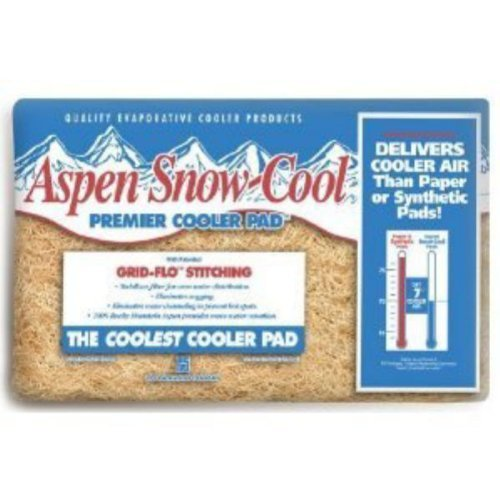 (6) PPS Pkg # 45IP 24' x 24' Aspen Snow-Cool Evaporative Swamp Cooler Pads Pps Packaging Company