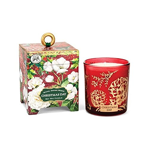 Michel Design Works Gift Boxed Soy Wax Candle, Christmas Day, 6.5 oz