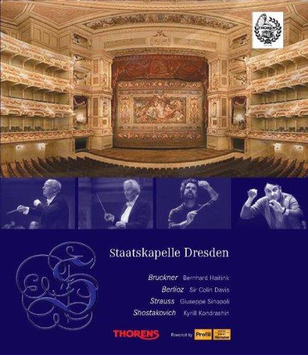 Price comparison product image Staatskapelle Dresden: Berlioz,  Bruckner,  Strauss