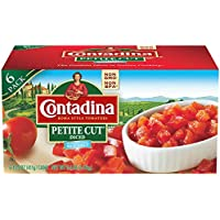 Contadina Petite Cut Diced Roma Style Tomatoes, 6 Count