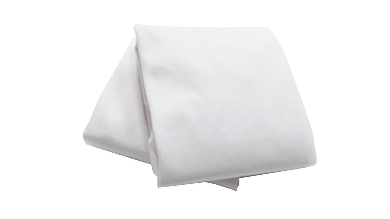 Moses Basket Set of 2 Sheets - Color: White Size: 13 x 27 by BabyDoll Bedding   B008HU424U