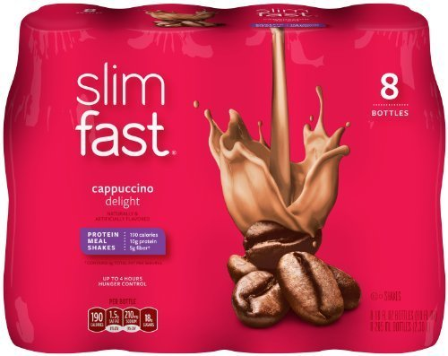 slimfast-ready-to-drink-bottles-cappuccino-delight-meal-replacement-shake-10-ounces-8-count-pack-of-