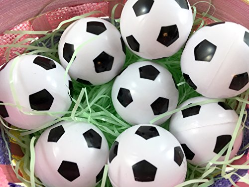 Easter Decorations Fillable Eggs - Set of 6 Sports Eggs