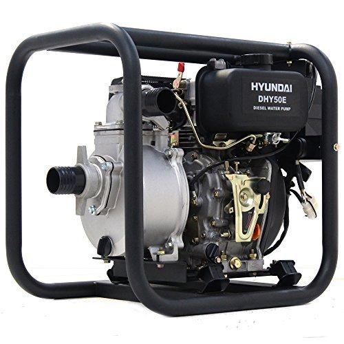 Hyundai 221 cc Electric Start 50 mm Diesel Water Pump DHY50E