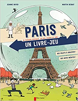 Paris Un Livre Jeu 9782081364240 Amazon Com Books