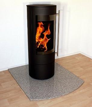 Granit-Placa de protección de chispa horno debajo de la base pantalla de arco para chimenea, pellet estufa, chimenea F09b - 100 x 120 cm: Amazon.es: Hogar