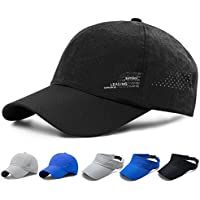 SHANLIANG Quick Dry Sports Hat Lightweight Breathable Soft Outdoor Run Baseball Cap