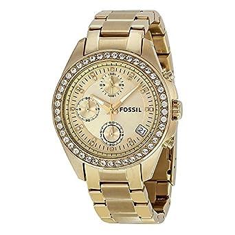 Damenuhren fossil gold  Fossil Damen-Uhren ES2683: Fossil: Amazon.de: Uhren