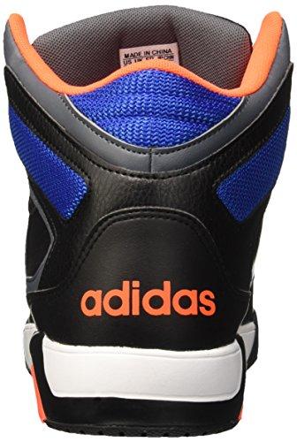 adidas Bb9tis, Zapatillas de Deporte para Hombre Negro / Blanco / Naranja (Negbas / Ftwbla / Narsol)